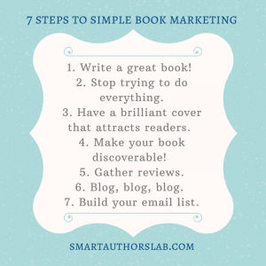 7 steps to simple book marketing